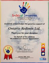 Smiles of Innocence Memorial Charity